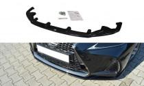 Maxton Design Spoiler předního nárazníku Lexus IS F-Sport Mk3 Facelift - texturovaný plast