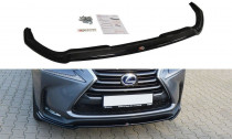 Maxton Design Spoiler předního nárazníku Lexus NX Mk1 - texturovaný plast
