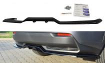 Maxton Design Spoiler zadního nárazníku s příčkami Lexus NX Mk1 Hybrid - texturovaný plast