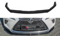 Maxton Design Spoiler předního nárazníku Lexus NX Mk1 Facelift - texturovaný plast