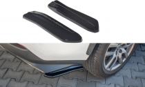 Maxton Design Boční lišty zadního nárazníku Lexus NX Mk1 Facelift Hybrid - texturovaný plast