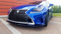 Maxton Design Spoiler předního nárazníku Lexus RC V.2 - texturovaný plast