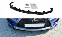 Maxton Design Spoiler předního nárazníku Lexus RC F - texturovaný plast