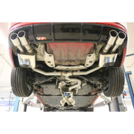"Fox Exhaust Catback výfuk Škoda Superb 4x4 koncovky ""Type 16"""