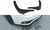 Maxton Design Boční lišty zadního nárazníku Maserati Granturismo V.2 - texturovaný plast