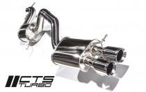 CTS Turbo Turboback výfuk VW Jetta 2,0 TFSI - DeCat