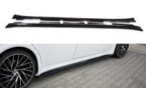 Maxton Design Prahové lišty Maserati Quattroporte Mk5 Facelift - texturovaný plast
