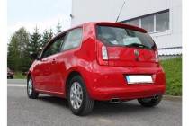 Catback výfuk Škoda Citigo & VW Up Fox Exhaust