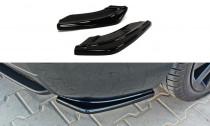 Maxton Design Boční lišty zadního nárazníku Mazda 3 MPS Mk1 - texturovaný plast