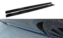 Maxton Design Prahové lišty Mazda 3 MPS Mk1 - texturovaný plast
