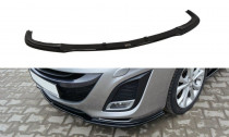 Maxton Design Spoiler předního nárazníku Mazda 3 Sport Mk2 - texturovaný plast