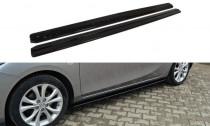 Maxton Design Prahové lišty Mazda 3 Sport Mk2 - texturovaný plast