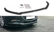 Maxton Design Spoiler předního nárazníku Mazda 3 Mk3 Facelift - texturovaný plast