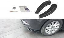 Maxton Design Boční lišty zadního nárazníku Mazda 3 Mk3 Facelift - texturovaný plast