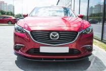 Maxton Design Spoiler předního nárazníku Mazda 6 Mk3 Facelift V.1 - texturovaný plast