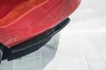 Maxton Design Boční lišty zadního nárazníku Mazda 6 Mk3 Facelift - texturovaný plast