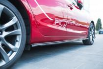 Maxton Design Prahové lišty Mazda 6 Mk3 Facelift - texturovaný plast
