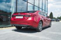Maxton Design Lišta víka kufru Mazda 6 Mk3 Facelift - texturovaný plast