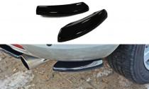 Maxton Design Boční lišty zadního nárazníku Mazda CX-7 - texturovaný plast