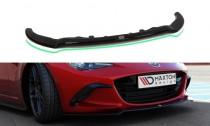 Maxton Design Spoiler předního nárazníku Mazda MX-5 Mk4 V.2 - texturovaný plast