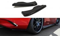 Maxton Design Boční lišty zadního nárazníku Mazda MX-5 Mk4 - texturovaný plast