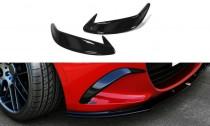 Maxton Design Rámečky předních světel Mazda MX-5 Mk4 - texturovaný plast