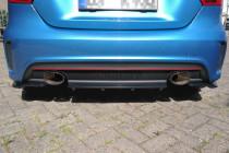 Maxton Design Spoiler zadního nárazníku s příčkami Mercedes A W176 AMG-Line - texturovaný plast