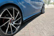 Maxton Design Prahové lišty Mercedes A W176 AMG-Line - texturovaný plast
