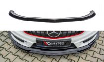 Maxton Design Spoiler předního nárazníku Mercedes A45 AMG W176 - texturovaný plast