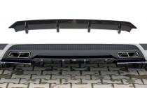 Maxton Design Spoiler zadního nárazníku Mercedes A45 AMG W176 - texturovaný plast