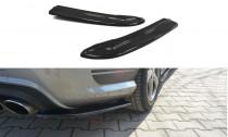 Maxton Design Boční lišty zadního nárazníku Mercedes C W204 AMG-Line - texturovaný plast