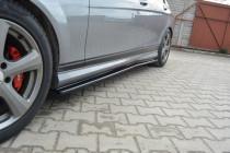Maxton Design Prahové lišty Mercedes C W204 AMG-Line - texturovaný plast
