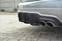 Maxton Design Zadní difuzor s lištami Mercedes C W204 AMG-Line