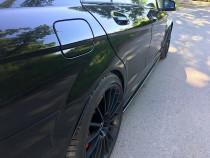 Maxton Design Prahové lišty Mercedes C63 AMG W204 Facelift - texturovaný plast