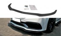 Maxton Design Spoiler předního nárazníku Mercedes C63 AMG W205 Coupe - texturovaný plast