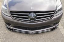 Maxton Design Spoiler předního nárazníku Mercedes CL 500 C216 AMG-Line - texturovaný plast