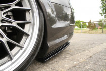 Maxton Design Boční lišty zadního nárazníku Mercedes CL 500 C216 AMG-Line - texturovaný plast