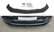 Maxton Design Spoiler předního nárazníku Mercedes CLA A45 AMG (C117) Facelift V.1 - texturovaný plast