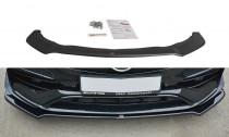 Maxton Design Spoiler předního nárazníku Mercedes CLA A45 AMG (C117) Facelift V.2 - texturovaný plast