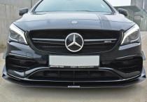 Maxton Design Spoiler předního nárazníku Racing Mercedes CLA A45 AMG (C117) Facelift
