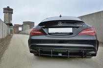 Maxton Design Zadní difuzor + LED brzdové světlo Racing Mercedes CLA A45 AMG (C117) Facelift V.2