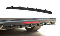 Maxton Design Spoiler zadního nárazníku Mercedes CLS W218 - texturovaný plast