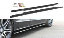 Maxton Design Prahové lišty Mercedes CLS W218 - texturovaný plast