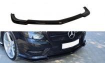 Maxton Design Spoiler předního nárazníku Mercedes CLS W218 AMG-Line - texturovaný plast