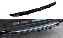 Maxton Design Spoiler zadního nárazníku s příčkami Mercedes CLS W218 AMG-Line - texturovaný plast
