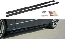 Maxton Design Prahové lišty Mercedes E W212 - texturovaný plast