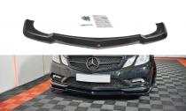 Maxton Design Spoiler předního nárazníku Mercedes E W212 Coupe AMG-Line - texturovaný plast