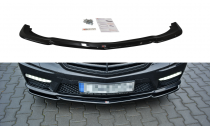 Maxton Design Spoiler předního nárazníku Mercedes E63 AMG W212 - texturovaný plast