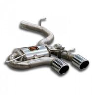 Turboback výfuk s klapkou VW Golf 6R 2,0 TFSI 195kW Supersprint - bez katalyzátoru / bez rezonátoru