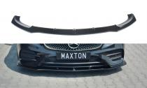 Maxton Design Spoiler předního nárazníku Mercedes E AMG-Line W213 Coupe - texturovaný plast